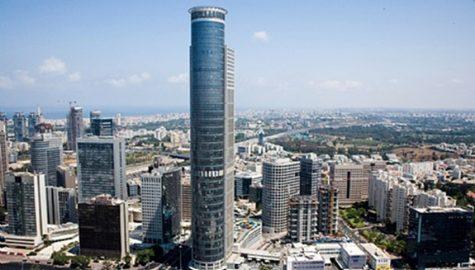 Plate heat exchangers for Moshe Aviv Tower